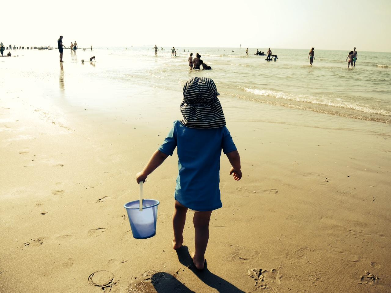 Sommer, Sonnenschein & Sonnenschutz für Kinder