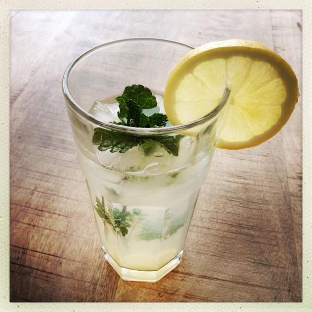 Minz Zitronen Limo