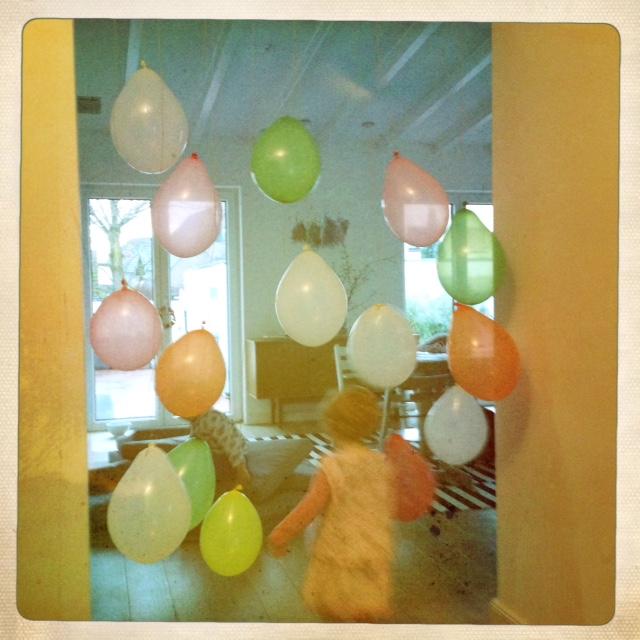 Ballonvorhang